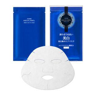 アクアレーベル リセットホワイトマスク <医薬部外品> 18mL×4枚 の画像 0