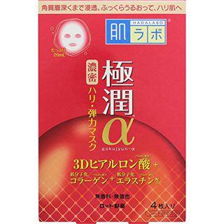 肌ラボ ロート製薬肌ラボ 極潤α スペシャルハリマスク4枚の画像
