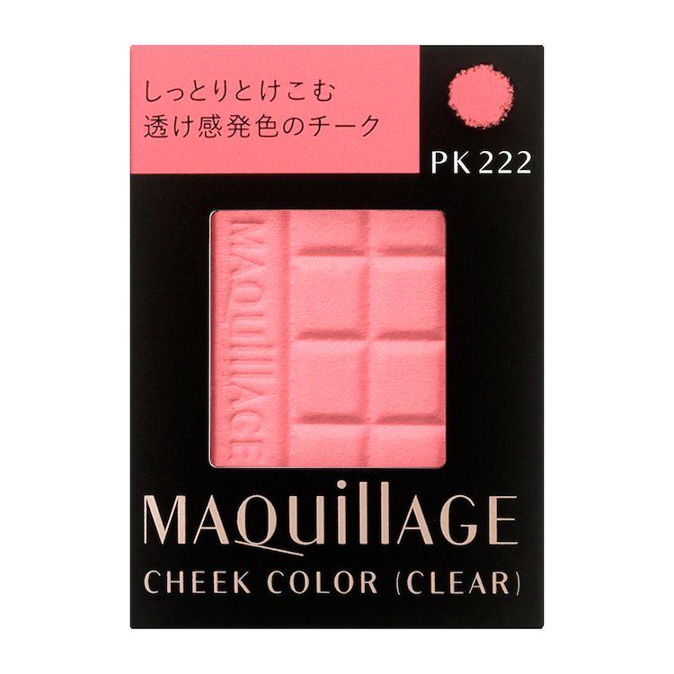 資生堂 マキアージュ チークカラー (クリア) PK222 (レフィル) 4gのバリエーション1