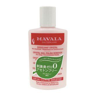 マヴァラ マヴァラ クリスタルネイルポリッシュリムーバー ( 100mL )/ マヴァラ(MAVALA)の画像