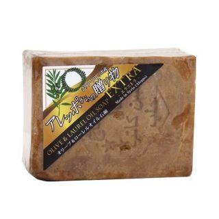 アレッポの石鹸 アレッポからの贈り物 オリーブ&ローレルオイル石鹸 エクストラ 190g/丸長の画像