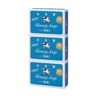 null [牛乳石鹸]カウブランド 青箱 バスサイズ 135g×3個 の画像 0