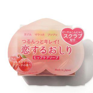 ペリカン石鹸 恋するおしり ヒップケアソープ 80g の画像 0