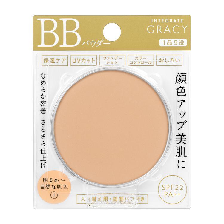 資生堂インテグレート グレイシィ エッセンスパウダーBB (レフィル) 明るめ~自然な肌色1 (R)のバリエーション1