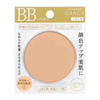 インテグレート グレイシィ エッセンスパウダーBB 1 明るめ~自然な肌色 【レフィル】 7.5g SPF22 PA++の画像