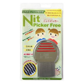 null (国内正規品)ニットピッカーフリーコーム シラミ・卵駆除専用櫛の画像