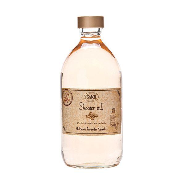 サボン SABON シャワーオイルパチュリラベンダーバニラ 500ml (ポンプ付) Patchouli Lavender Vanilla[ボディソープ]:(宅急便対応) [並行輸入品]のバリエーション5
