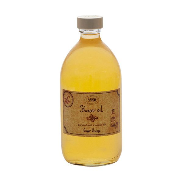 サボンのシャワーオイル ジンジャー オレンジ 500mlに関する画像1