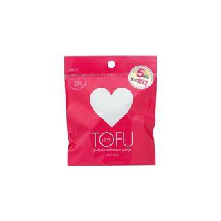 TOFU TOFU LOVE プロフェッショナル メイクアップ スポンジ 2個の画像