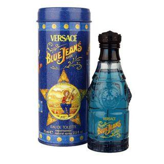 ヴェルサーチ ヴェルサーチ ブルージーンズ EDT SP 75ml 香水の画像