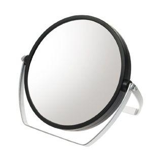 null 10倍拡大鏡付 両面スタンドミラー ブラック YL-1500の画像