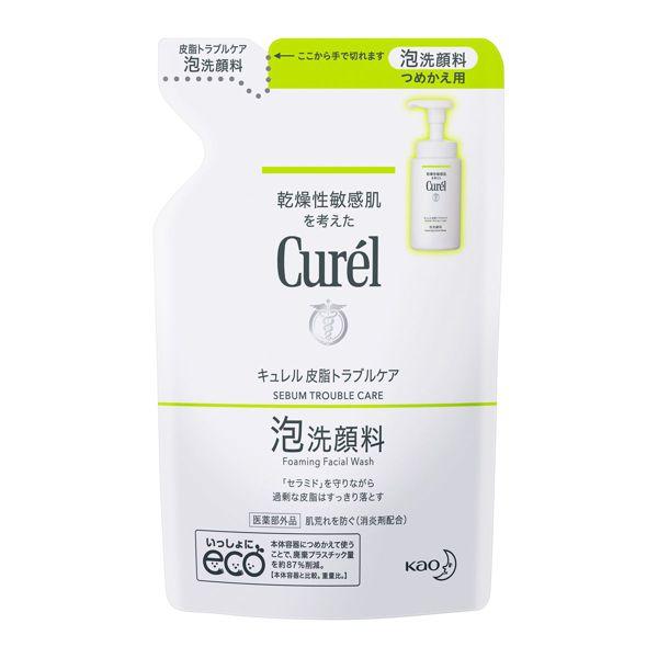 キュレルのキュレル 皮脂トラブルケア 泡洗顔料  【つめかえ用】 <医薬部外品> 130mlに関する画像1