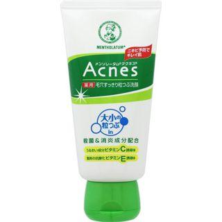メンソレータム アクネス ロート製薬メンソレータム アクネス 薬用毛穴すっきり粒つぶ洗顔130g(医薬部外品)の画像