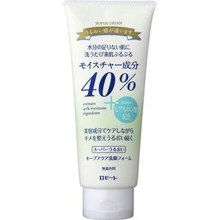 ロゼット ロゼット40%スーパーうるおい キープアクア洗顔フォーム168gの画像