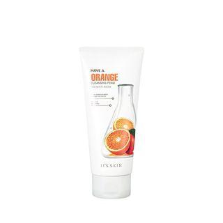 イッツスキン Have A クレンジングフォーム オレンジ 150mlの画像