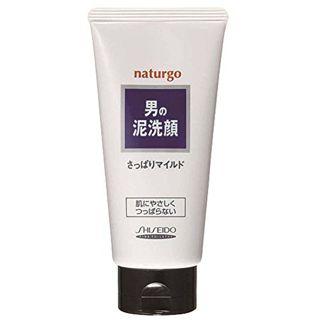 ナチュルゴ メンズクレイ洗顔フォーム (白) 130gの画像