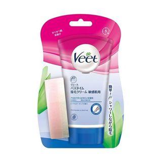 Veet ヴィート バスタイム除毛クリーム 敏感肌用 150gの画像