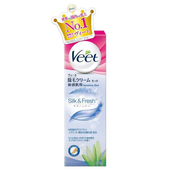 Veetのヴィート除毛クリーム [敏感肌用] 105gに関する画像1