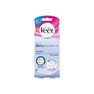 Veet(ヴィート) 【ヴィート 顔用脱毛ワックスシート 敏感肌用(20枚)】の画像