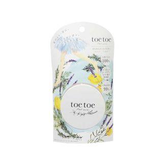toetoe toetoe(トゥトゥー) さらさらフットパウダー 20gの画像