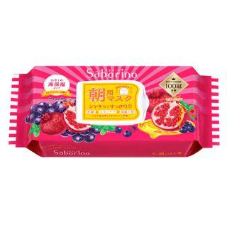 サボリーノ 目ざまシート 完熟果実の高保湿タイプ 28枚の画像