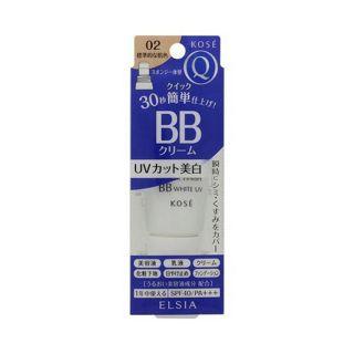 エルシア コーセー エルシア プラチナム クイックフィニッシュ BB ホワイト UV 02 標準的な肌色 (35g) BBクリームの画像