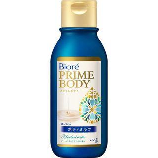 ビオレ 花王 ビオレ プライムボディ オイルin ボディミルク ハーバルオアシスの香り 200mlの画像