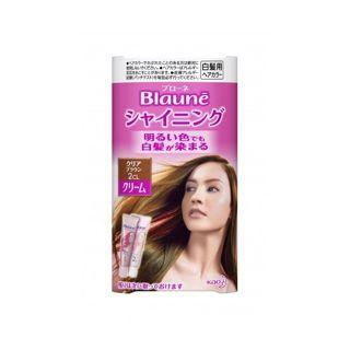 花王 花王 ブローネ シャイニングヘアカラー クリーム クリアブラウン 2CLの画像