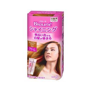 花王 花王 ブローネ シャイニングヘアカラー クリーム シャンパンブラウン 1CPの画像