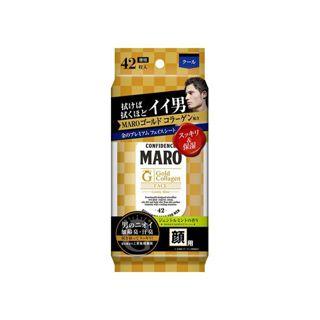 MARO MARO プレミアム フェイスシート GOLD ジェントルミントの香り 42枚入の画像