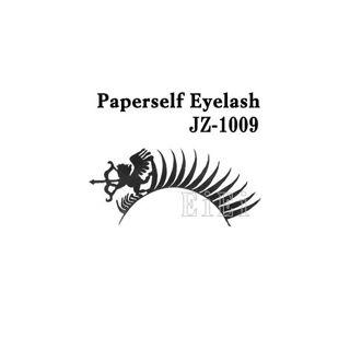 null アートペーパーラッシュ,つけまつげ,プロ用,紙のつけまつ毛,新感覚のアイラッシュ キューピッド JZ-1009の画像
