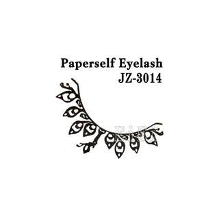 null アートペーパーラッシュ,つけまつげ,プロ用,紙のつけまつ毛,新感覚のアイラッシュ クジャク JZ-3014の画像