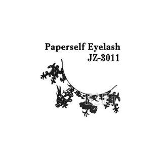 null アートペーパーラッシュ,つけまつげ,プロ用,紙のつけまつ毛,新感覚のアイラッシュ 鳥 JZ-3011の画像
