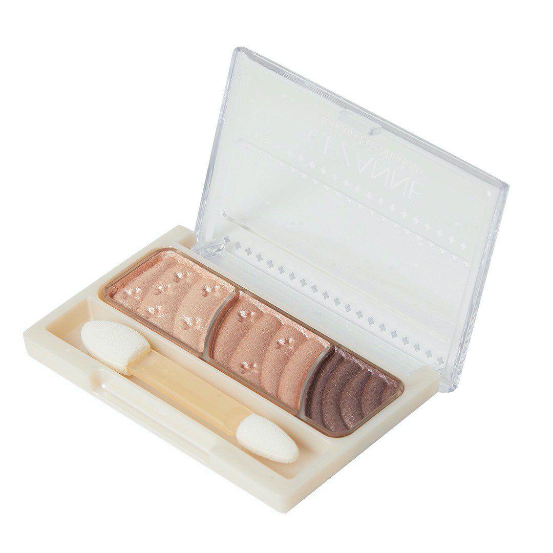 セザンヌ化粧品トーンアップアイシャドウ 02 ローズブラウンのバリエーション1