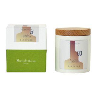 Heavenly Aroom ヘブンリーアルーム アロマキャンドルS SLEEPLUS 03 ラベンダーサンダルウッド ( 80g )/ ヘブンリーアルーム(Heavenly Aroom)の画像