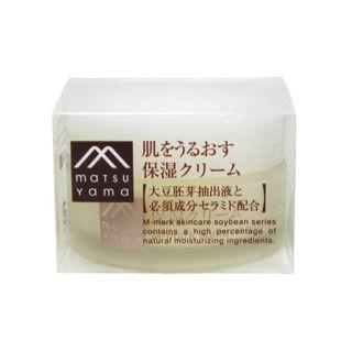 肌をうるおす保湿スキンケア 松山油脂肌をうるおす保湿クリーム45gの画像