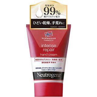 ニュートロジーナ ニュートロジーナ ノルウェーフォーミュラ インテンスリペア ハンドクリーム 無香料 50gの画像