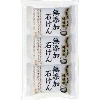 ペリカン石鹸 釜焚き純植物無添加石けん 85g×3個パックの画像