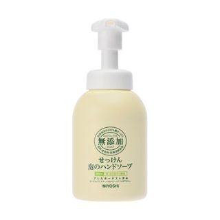 MIYOSHI ミヨシ石鹸 無添加せっけん 泡のハンドソープ 本体 350mlの画像