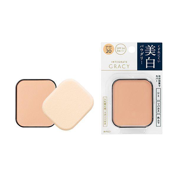 グレイシィのホワイトパクトEX オークル20 自然な肌色 【レフィル】 11g SPF26 PA+++に関する画像1