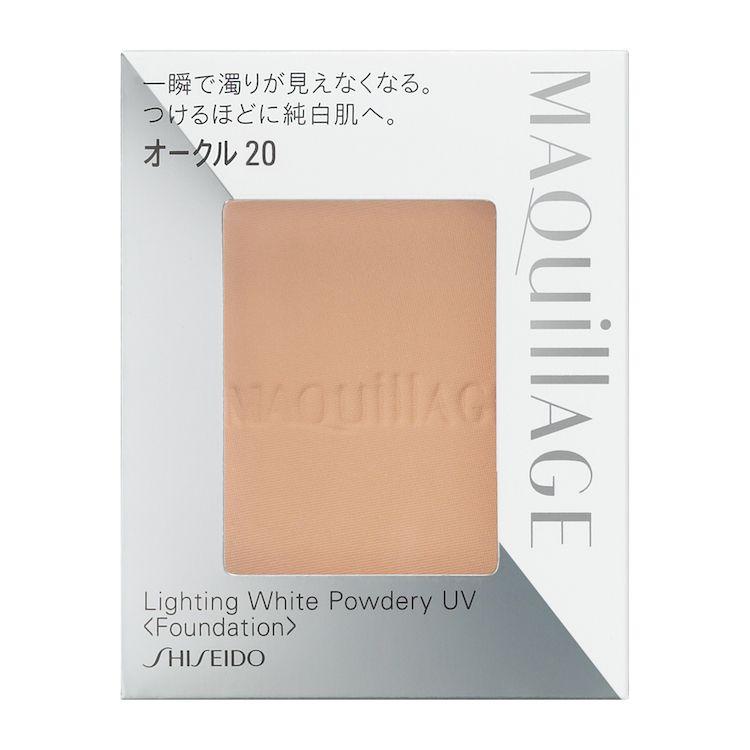 資生堂 マキアージュ ライティング ホワイトパウダリー UV オークル20(レフィル) 10gのバリエーション1