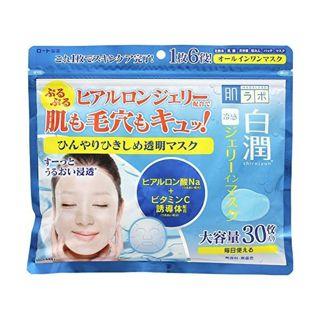 ロート製薬 ロート製薬 肌ラボ 白潤 冷感ジェリーインマスク 30枚の画像