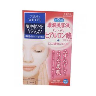 クリアターン コーセー クリアターン ホワイト マスク(ヒアルロン酸) 5回分の画像