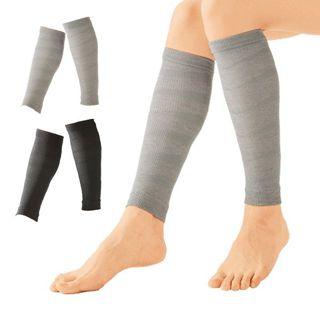 セルヴァン 着圧ソックス 足のむくみ 靴下 むくみ解消 着圧ふくらはぎサポーター 2枚組(グレー)の画像