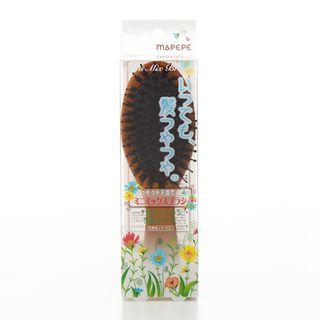 マペペ つやつや天然毛のミニミックスブラシの画像