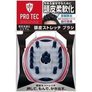 ライオン PRO TEC(プロテク) ウォッシングブラシ 頭皮ストレッチタイプの画像