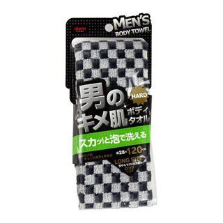 アイセン aisen 男のキメ肌 チェック ボディタオルの画像
