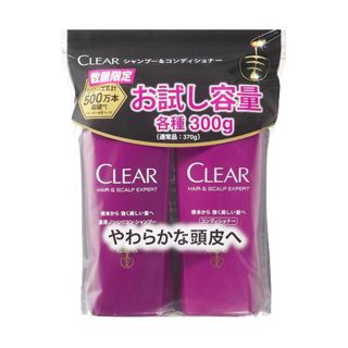 CLEAR 【数量限定】クリア お試し容量ポンプペア 300g+300gの画像