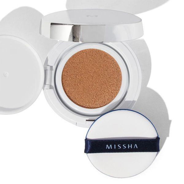 ミシャのミシャ M クッション ファンデーション No.23 自然な肌色 マット 15g SPF50+ PA+++に関する画像1