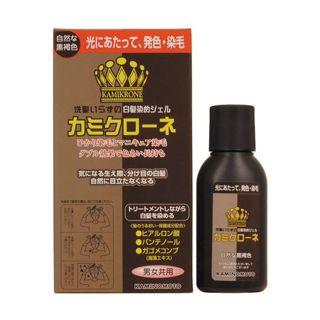 加美乃素 加美乃素 カミクローネ 自然な黒褐色 80mlの画像